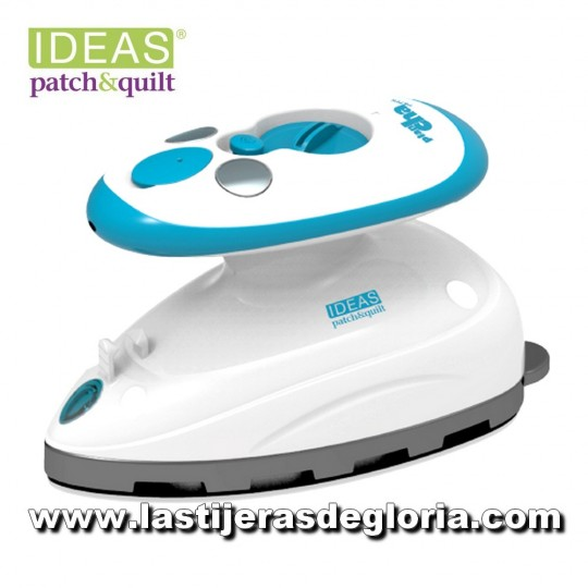Plancha mini para patchwork 400W con vapor IDEAS Patch
