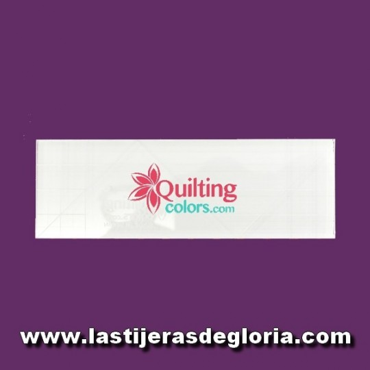 Regla de acolchado libre Rectangular de Quilting Colors
