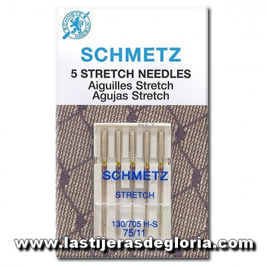 Agujas SCHMETZ Stretch NM 75 130 /705H-S