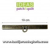 Boquilla monedero cofre oro viejo IDEAS Patch