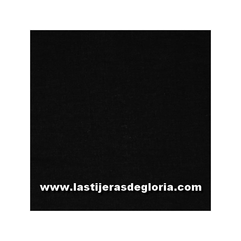 Tela patchwork trasera 280 cm. lisa color negro