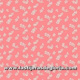 "Tela floral rosa colección ""The English Garden"" de Liberty London"