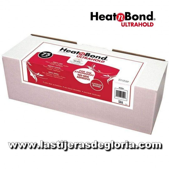 Fliselina termoadhesiva doble cara Heat N Bond Ultrahold de Therm-o-Web