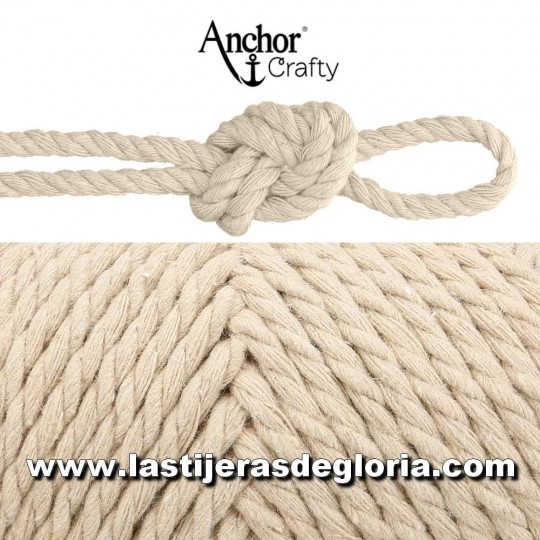 Cordón macramé Anchor Crafty 10 colores