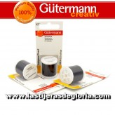 Hilo invisible transparente Gutermann oscuro