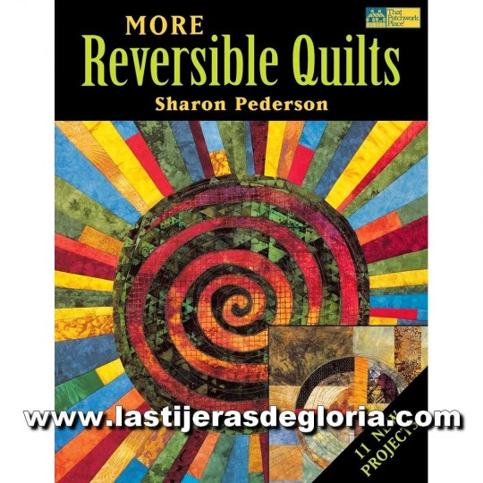 "Libro ""More Reversible Quilts"" (en inglés)"