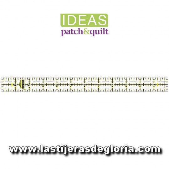 Regla Patchwork 1 x 12 pulgadas IDEAS Patch