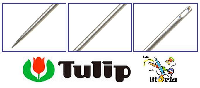 agujas de calidad Tulip en Las Tijeras de Gloria