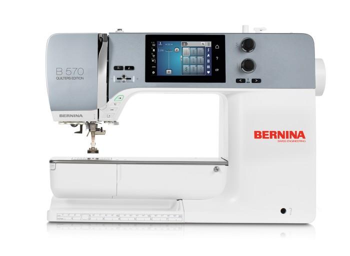 Nueva Bernina 570QE simulador Las Tijeras de Gloria