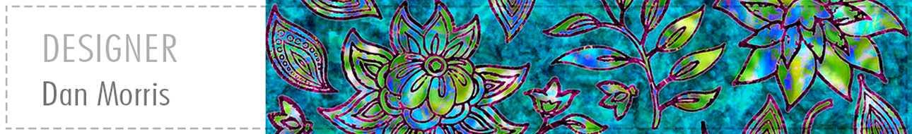 Telas patchwork colección Kashmir de Dan Morris para Quilting Treasures