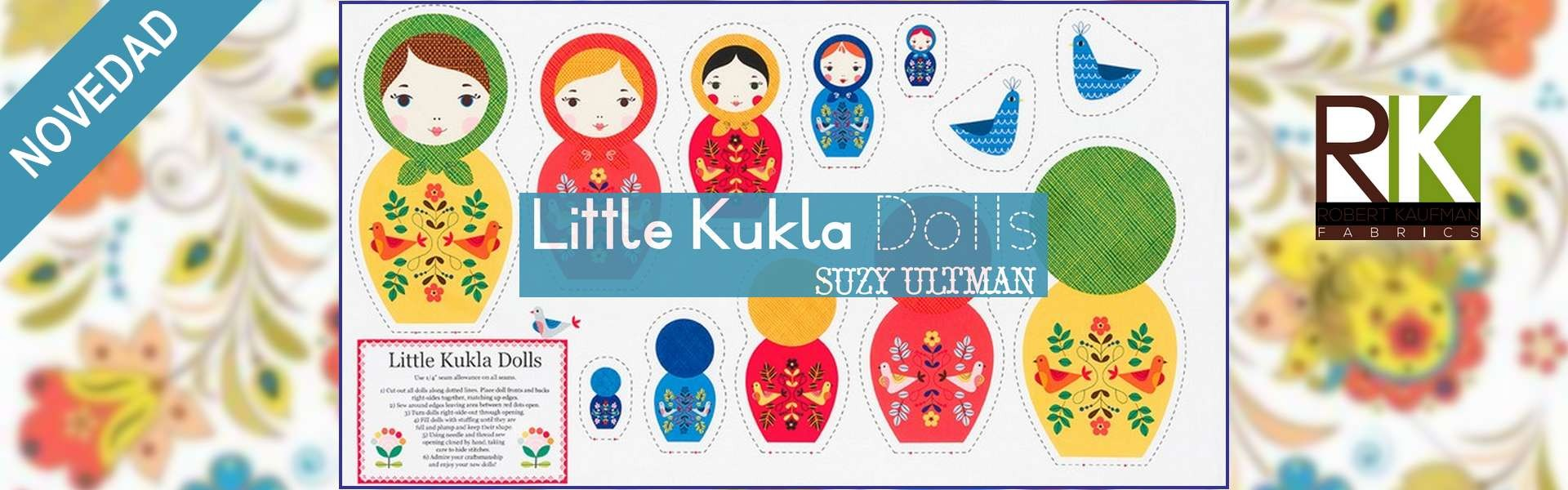 LITTLE KUKLA DOLLS