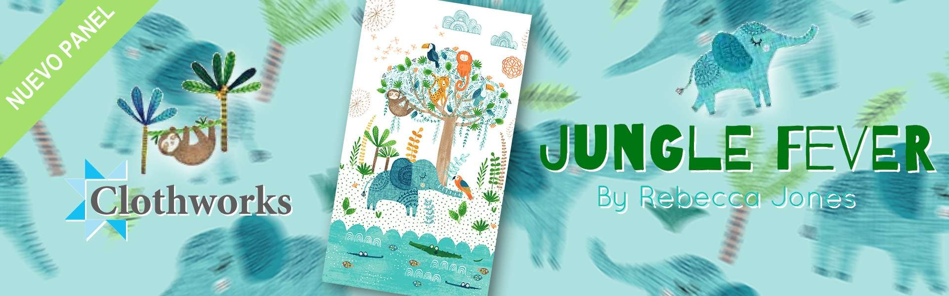 Jungle Fever - Rebecca Jones - Clothworks