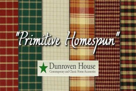 Primitive Homespun, telas Country en estado puro